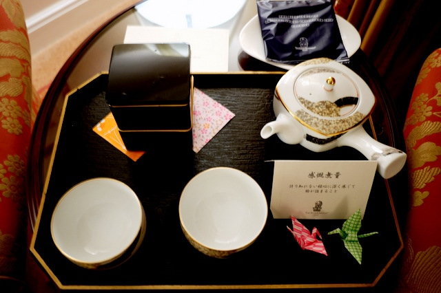 ザ・リッツ・カールトン大阪_お茶