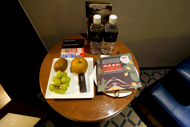 ANAインターコンチネンタルホテル東京_アンバサダー特典