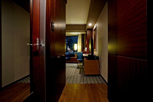 ANAインターコンチネンタルホテル東京,玄関