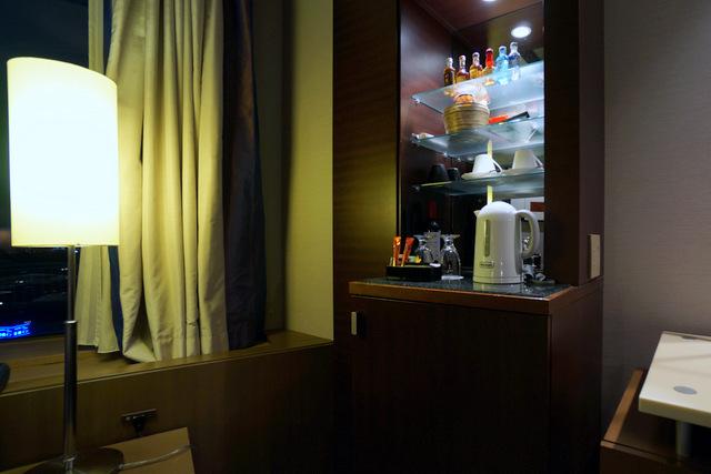 ANAインターコンチネンタルホテル東京_ミニバー