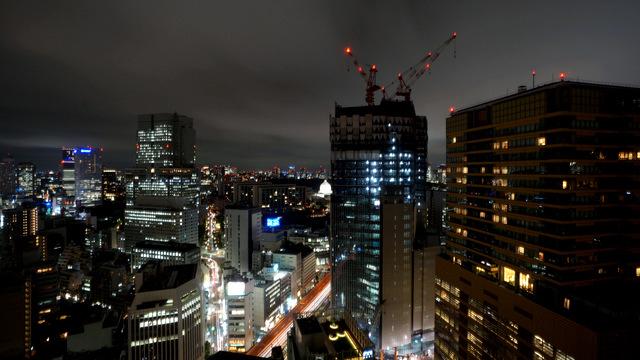 ANAインターコンチネンタルホテル東京_夜景