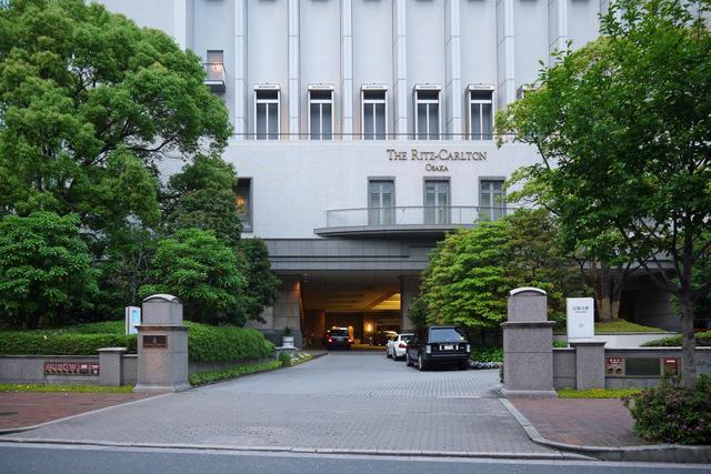 ザ・リッツ・カールトン大阪_メインエントランス