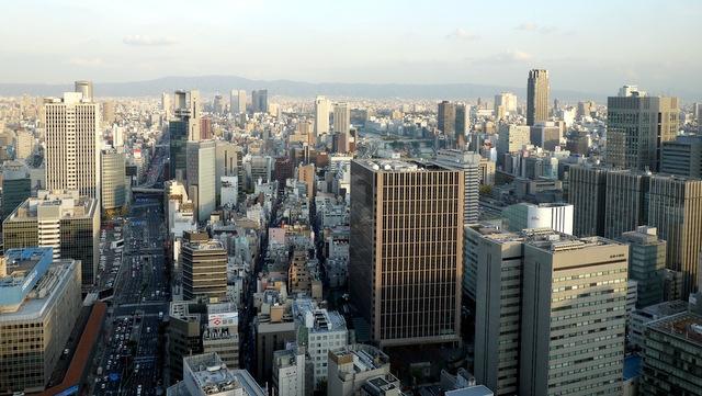 ザ・リッツ・カールトン大阪_眺望(東側)