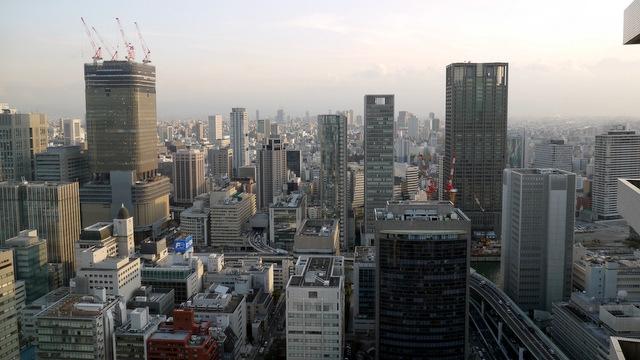 ザ・リッツ・カールトン大阪_眺望(南側)