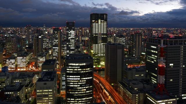 ザ・リッツ・カールトン大阪_夜景(南側)