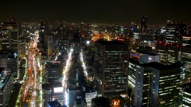 ザ・リッツ・カールトン大阪_東側夜景