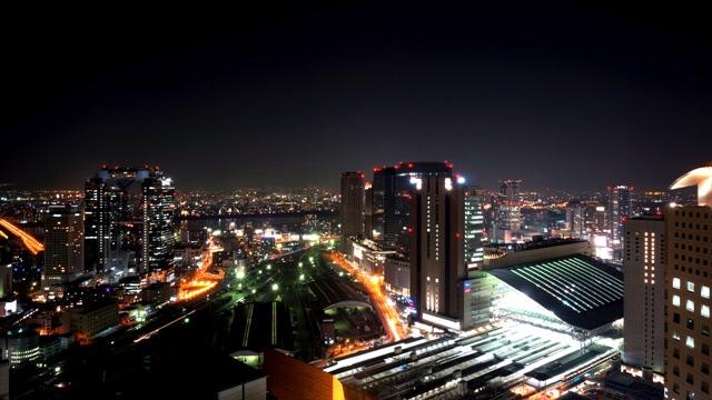 ザ・リッツ・カールトン大阪_北側の夜景