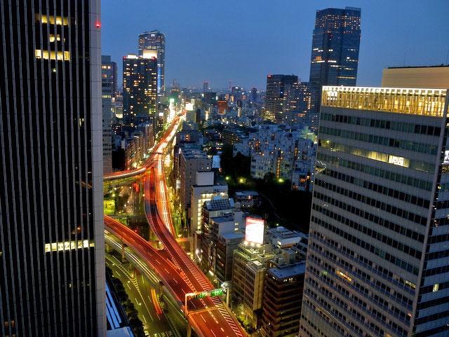 ANAインターコンチネンタル東京_夜景