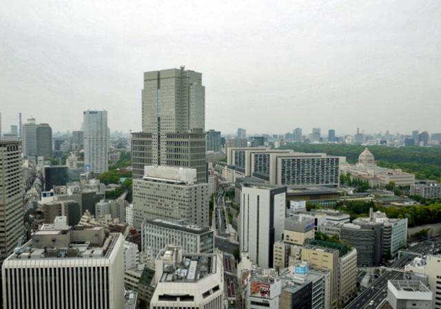 ANAインターコンチネンタル東京_クラブラウンジからの眺望
