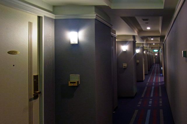 第一ホテルシーフォート_廊下