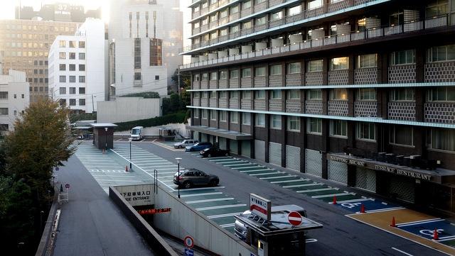 ホテルオークラ東京_夜景