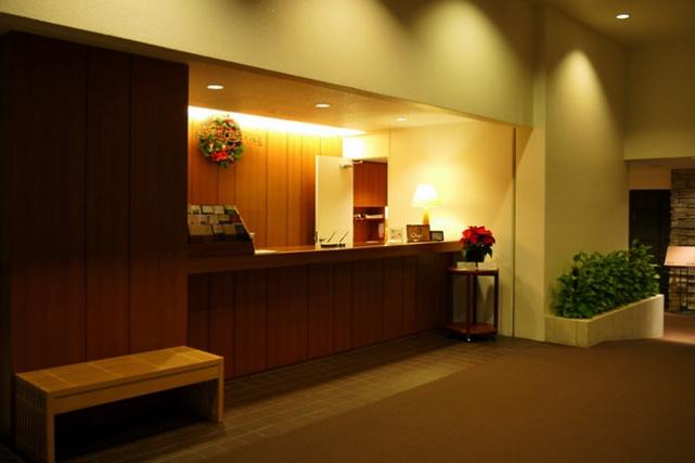 ホテル鹿島ノ森_フロント