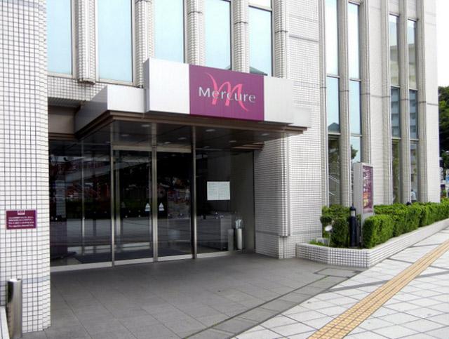 メルキュール横須賀_エントランス