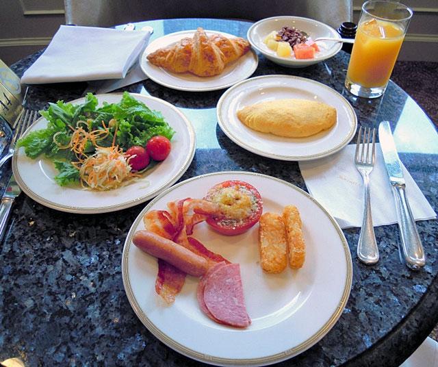 名古屋マリオットアソシア_クラブラウンジでの朝食