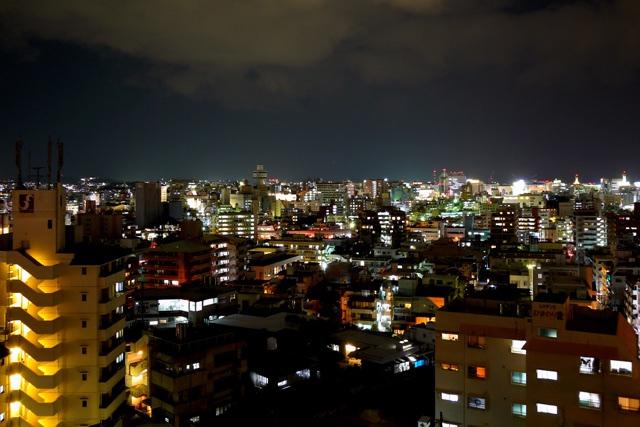 ザ・ナハテラス_シティビュー夜景