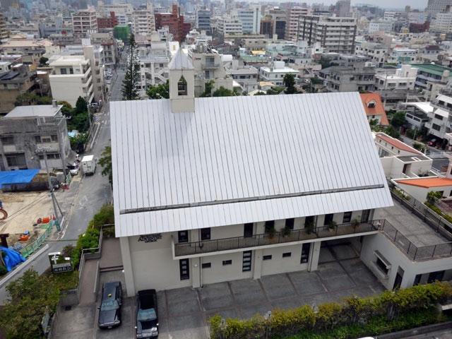 ザ・ナハテラス_教会の眺め