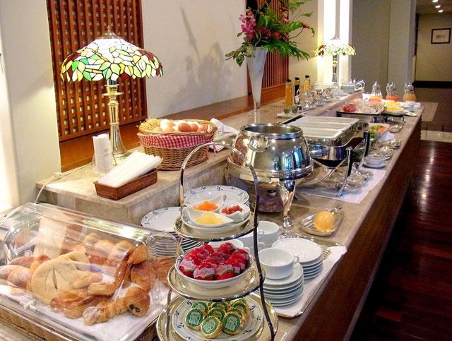 ザ・ナハテラス_クラブラウンジの朝食