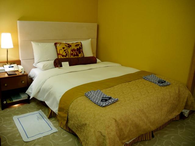 ホテルオークラ東京_ベッド