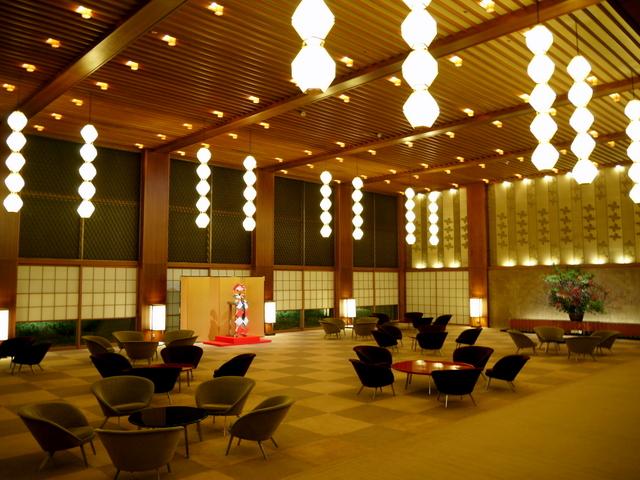 ホテルオークラ東京_本館ロビー