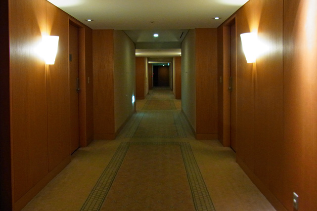 横浜ベイホテル東急_廊下