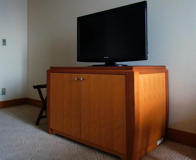横浜ベイホテル東急_テレビ
