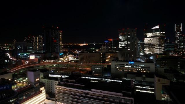 横浜ベイシェラトン_夜景