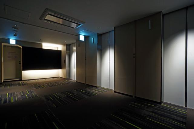 名鉄イン名古屋駅新幹線口_エレベーターホール