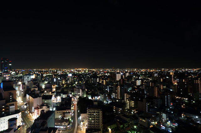 名鉄イン名古屋駅新幹線口_夜景