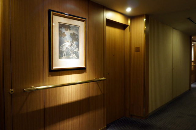 ニューグランド_タワー館客室階廊下