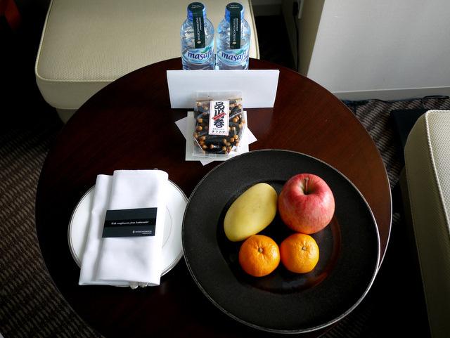 ストリングスホテル東京_ウェルカムギフト