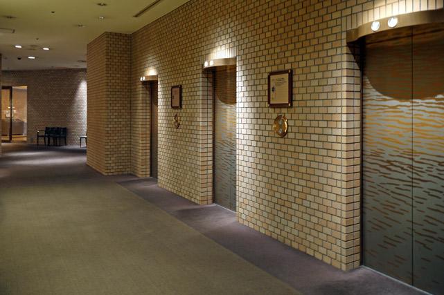 ハイアットリージェンシー東京_エレベーターホール