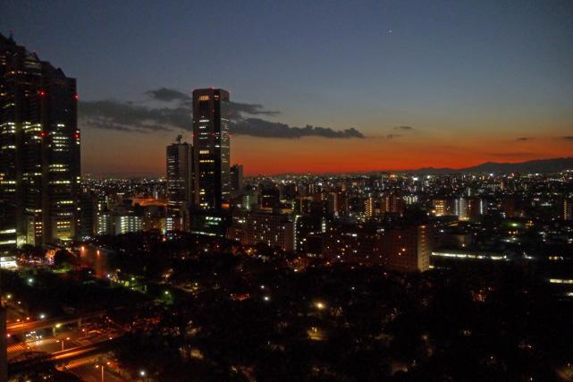ハイアットリージェンシー東京_夜景