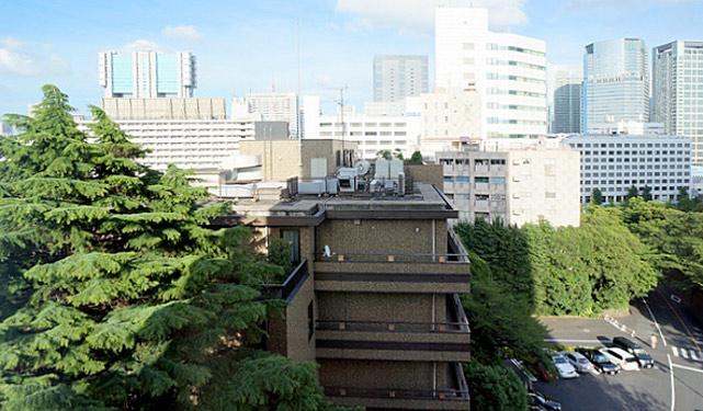 さくらタワー_バスルームからの眺望