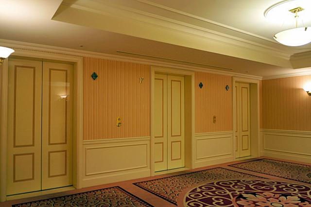 第一ホテル東京_エレベーターホール
