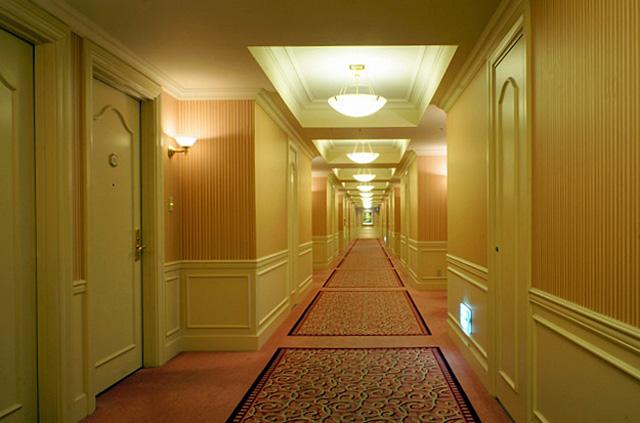 第一ホテル東京_廊下