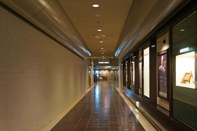 帝国ホテル東京_地下廊下
