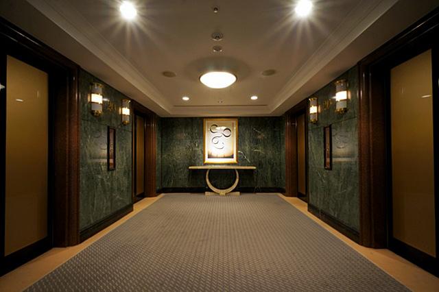 イースト21東京_エレベーターホール
