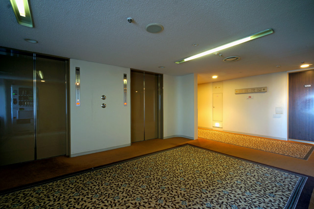 グランドプリンス高輪_エレベーターホール