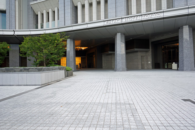 パレスホテル東京_エントランス