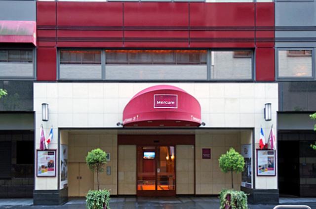 メルキュール銀座東京_エントランス