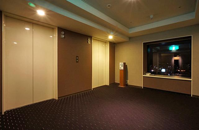 ノボテル札幌_エレベーターホール