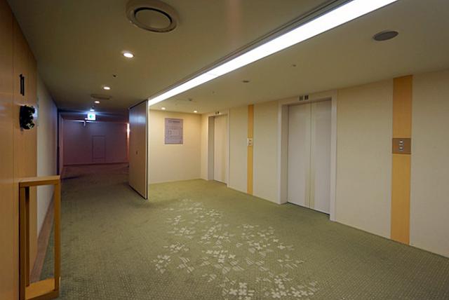 東京ドームホテル札幌_エレベーターホール