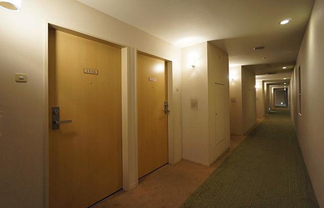 東京ドームホテル札幌_廊下