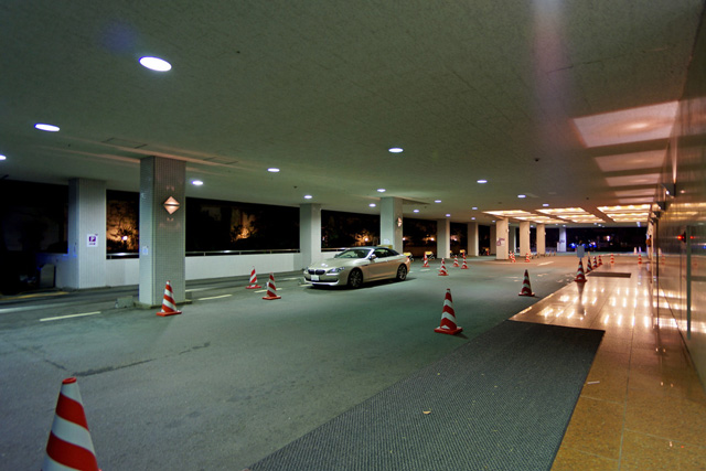 ANA京都_車寄せ