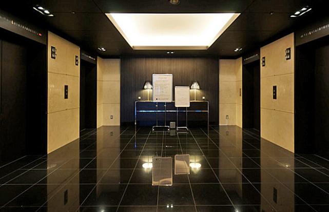 赤坂エクセルホテル東急_エレベーターホール