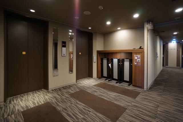 ドーミーイン網走_エレベーターホール