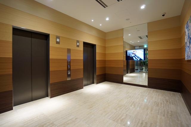 フォルツァ長崎_エレベーターホール