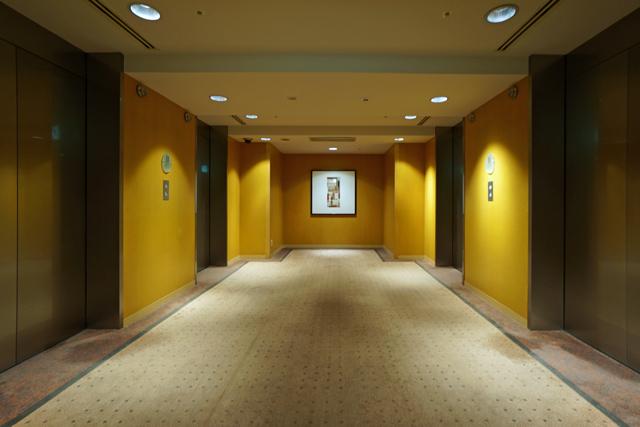 グランドハイアット福岡_エレベーターホール