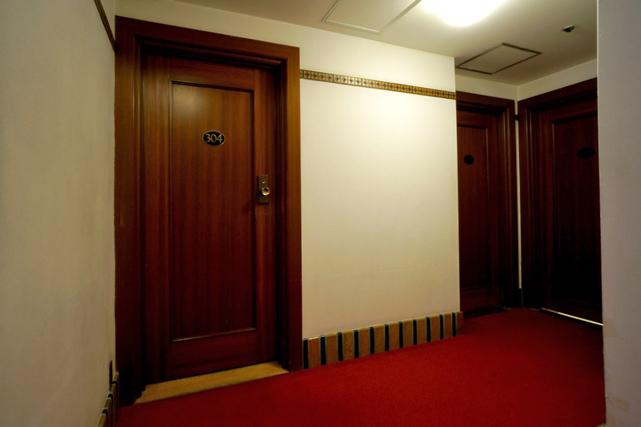 山の上ホテル_廊下