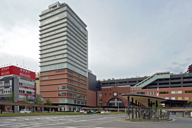 JR九州ホテル ブラッサム大分 _外観